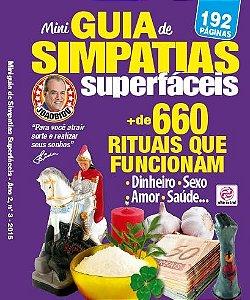 MINIGUIA DE SIMPATIAS SUPERFÁCEIS - 3 (2015)
