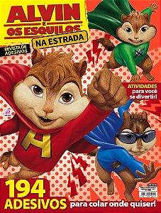REVISTA DE ADESIVOS ALVIN E OS ESQUILOS NA ESTRADA - 1 (2015)