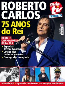 GUIA DA TEVÊ TRIBUTO 6 - ROBERTO CARLOS (2016)