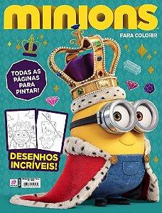 MINIONS PARA COLORIR - 3 (2016)