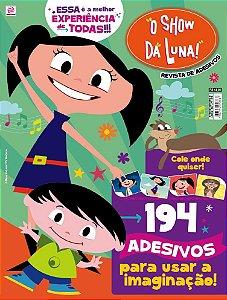 O SHOW DA LUNA! - REVISTA DE ADESIVOS - 1 (2016)