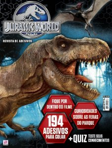 JURASSIC WORLD REVISTA DE ADESIVOS - 1 (2016)