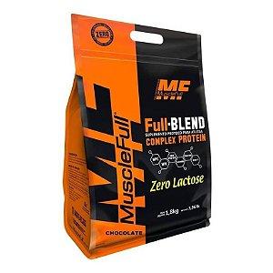 Full Blend Zero Lac - 1,8kg - Muscle Full