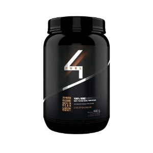 100% Whey Concentrate - 900g - 4 Fuel