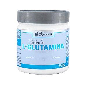 L-Glutamina Foods - 500g - BrnFoods