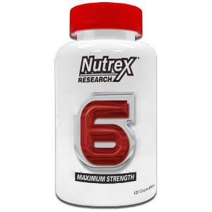 Nutrex 6 - 120 Caps - Nutrex