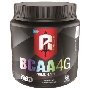 BCAA 4G Prime - 250caps - Mednutrition