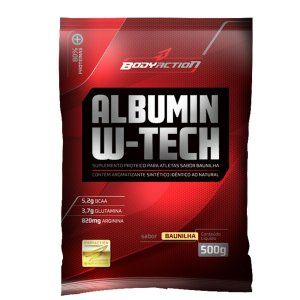 Albumin W- Tech - 500g - Bodyaction