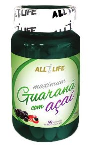 Maximum Guaraná com Açaí 60Caps - All Life