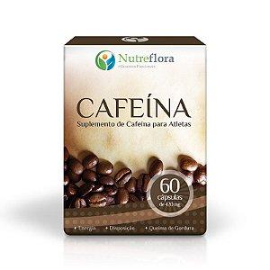Cafeína - 60 Caps - Nutreflora
