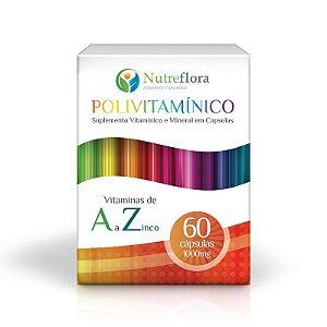 Polivitamínico - 60 Caps - Nutreflora