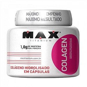 Colágeno - 100 Caps - Max Titanium
