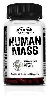 Human mass - 60 Caps - Power Supplements