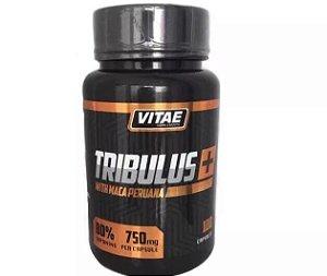 Tribulus 750mg Com Maca Peruana - 100 Caps - Vitae