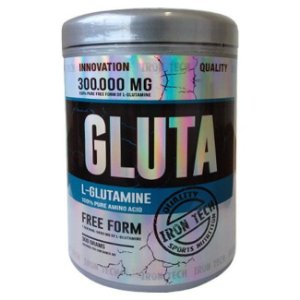 L-Glutamina - 300g - Iron Tech