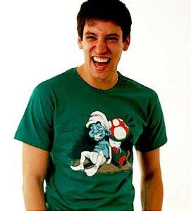 Camiseta Verde Smurf