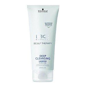 Schwarzkopf Bonacure Hair & Scalp Deep Cleansing Shampoo Anti-Oleosidade 200ml