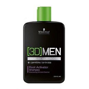 Schwarzkopf [3D]MenSion Root Activator - Shampoo Antiqueda 250ml