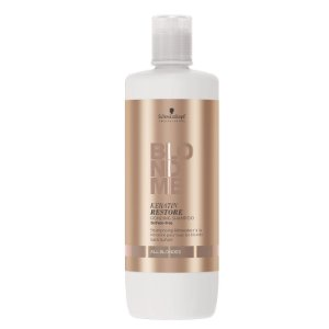 Schwarzkopf Blondme All Blondes Keratin - Shampoo sem Sulfato 1000ml