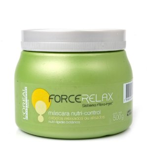 L'Oréal Professionnel Force Relax Nutri Control Máscara de Tratamento 500g