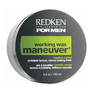 Redken For Men Working Wax Maneuver - Cera Modeladora 100ml
