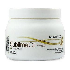 Matrix Biolage Sublime Oil Máscara Tratamento 500g