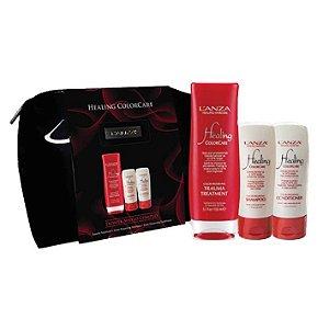 L'Anza Healing ColorCare Travel Bag - Kit (3 produtos)