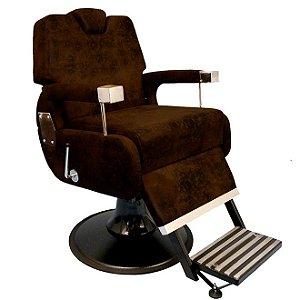 Cadeira de Barbeiro Reclinável Sevilha