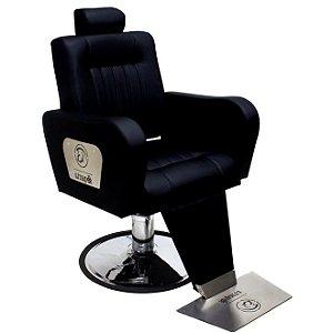 Cadeira de Barbeiro Sparta Reclinavel
