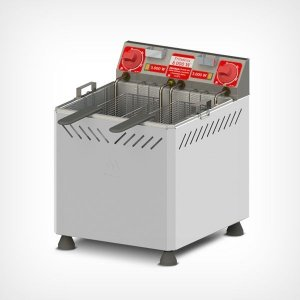 Fritadeira 25 litros água/óleo Inox Bancada 8.000W Marchesoni