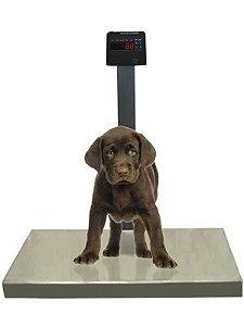 Balança Plataforma 50x80cm Pet Capacidade para 200kg Bivolt Automatico Ramuza
