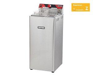 Fritadeira Elétrica Gabinete Zona Fria 18 Litros 5.000W 220V Croydon