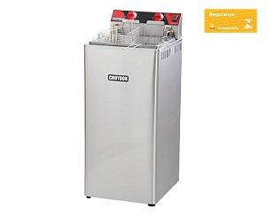 Fritadeira Elétrica Gabinete 18 Litros 8000w Zona Fria Croydon.