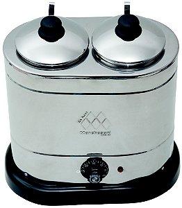 Derretedeira Master 2 cubas 1Kg com termostato Marchesoni