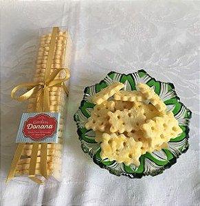 Biscoito Salgado de Parmesão - S/Gluten - 28 unidades