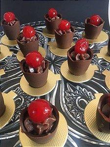 Copinho de Chocolate Recheado