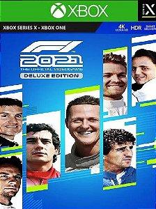 F1 2021 Deluxe Edition - Xbox One e Series X/S - Mídia Digital