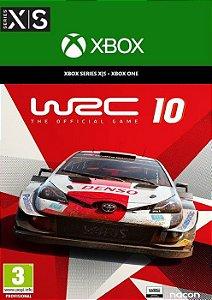 WRC 10 Standard Edition - Xbox  One e Series X/S - Mídia Digital
