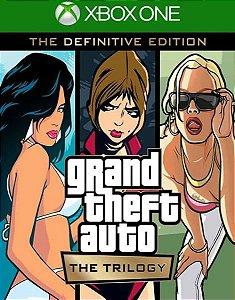 Grand Theft Auto The Trilogy GTA Trilogy - Xbox One e Series X/S - Mídia Digital