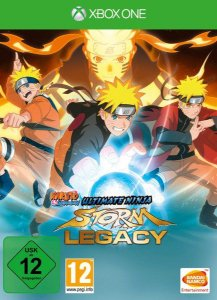 Naruto Shippuden: Ultimate Ninja Storm Legacy Xbox One - Mídia Digital