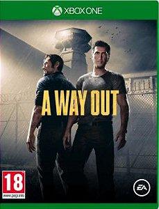 A Way Out Xbox One - Mídia Digital