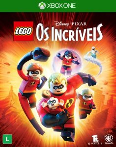 Lego Os Incríveis Xbox One - Mídia Digital