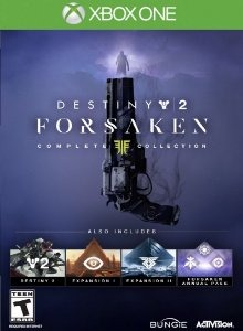 Destiny 2 Renegados Completo Xbox One - Mídia Digital