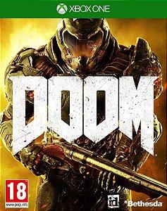 Doom Xbox One - Mídia Digital