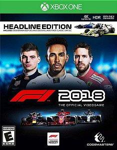 F1 2018 Headline Edition Xbox One - Mídia Digital