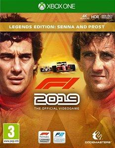 F1 2019 Legends Edition Senna & Prost Xbox One - Mídia Digital