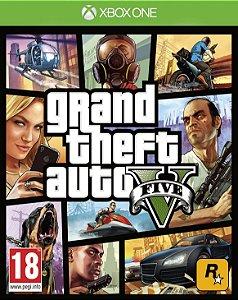Grand Theft Auto V Gta 5 Xbox One - Mídia Digital