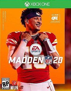 Madden Nfl 20 Xbox One - Mídia Digital