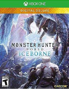 Monster Hunter World: Iceborne Digital Deluxe Xbox One - Mídia digital