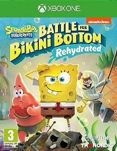 SpongeBob SquarePants Battle for Bikini Bottom Rehydrated Xbox One - Mídia Digital